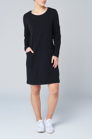 Black L/S Pocket Dress
