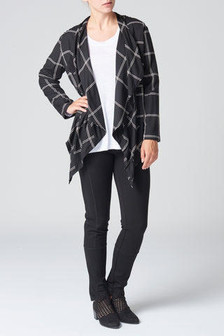 The Black & Natural Check Jacket