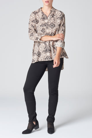 The Aztec Print Shirt