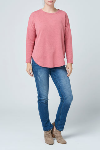 Brushed Jersey Slouch Jumper