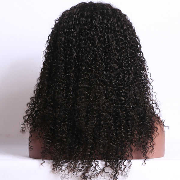 Luxe Synthetic Lace Front Wig Deep Wave Black