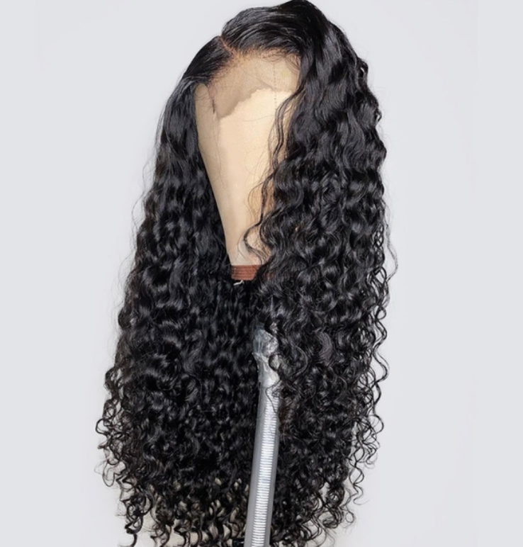 Custom made wig - Deep wave