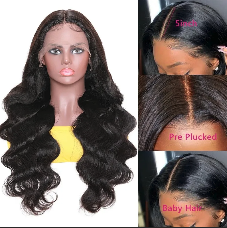 Whitney Marie Lace Frontal Wig | Virgin Brazilian hair 150% density 13 x 6 inch frontal | Pre plucked | Baby Hair