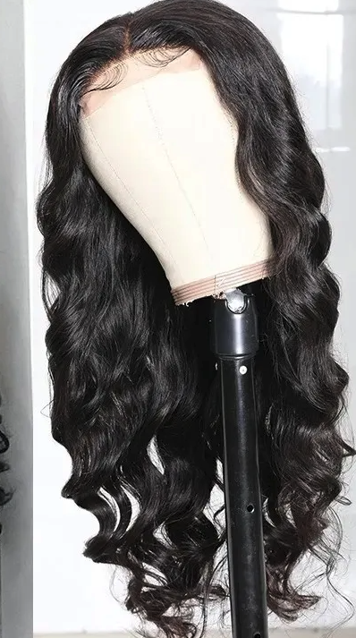 Whitney Marie Custom Made Lace closure wig with bundles | Virgin Brazilian Loos Wave | Pre Plucked | Baby hair