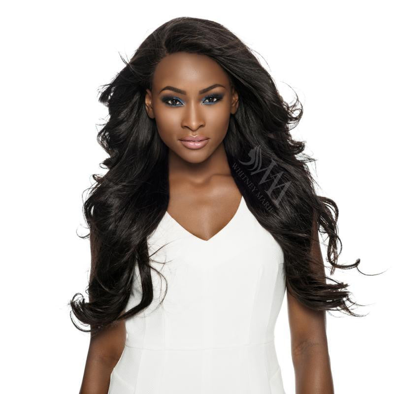 Lace Frontal (Straight) Middle parting - Whitney Marie Hair