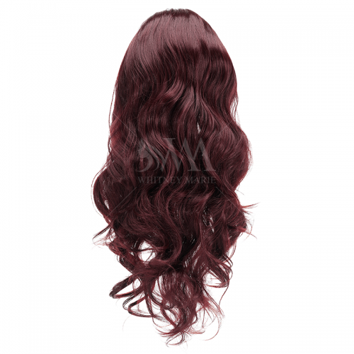 3/4 Wig - Cherry Red - Whitney Marie Hair