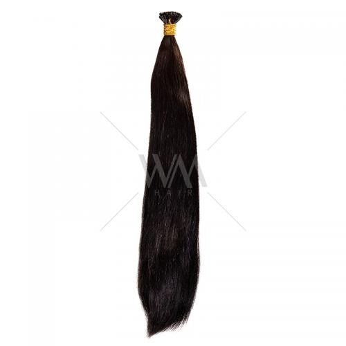 Stick-Tip Keratin Hair Extension #1B - Whitney Marie Hair