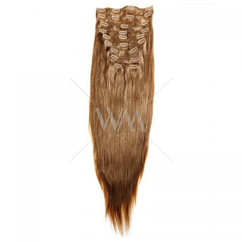 Deluxe Clip-in Hair Extensions 260g #10/16 - Whitney Marie Hair