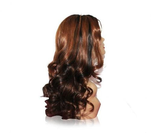 Glueless Lace Wig: Lucy 20inch Ombre - Whitney Marie Hair