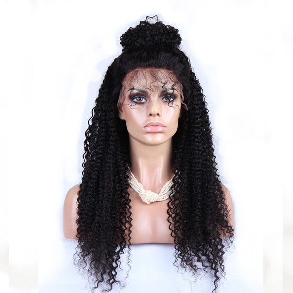 Full Lace Wig: Deep Curl #1B | WM Hair
