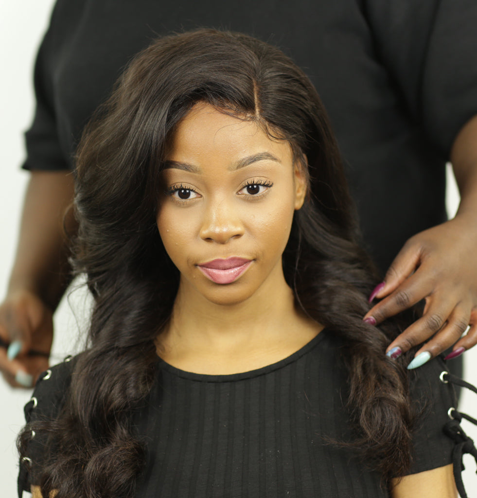 HD Lace Frontal (Straight) freestyle - Whitney Marie Hair