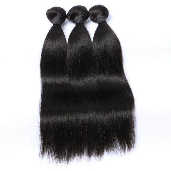 Virgin Brazilian Hair (Straight) 3 Bundles Pack - Whitney Marie Hair