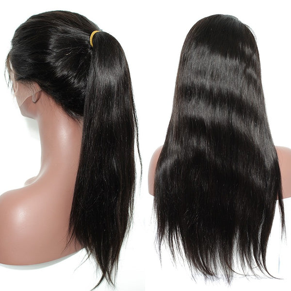 Full Lace Wig: Straight #1B | WM Hair