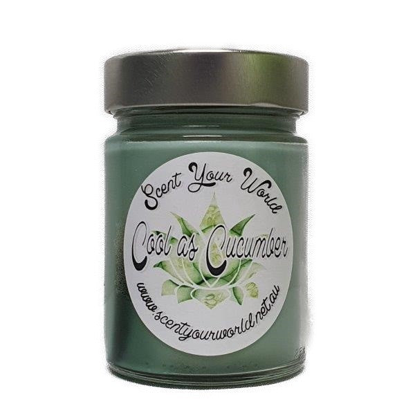 Cool as a Cucumber - Soy Jar Candle