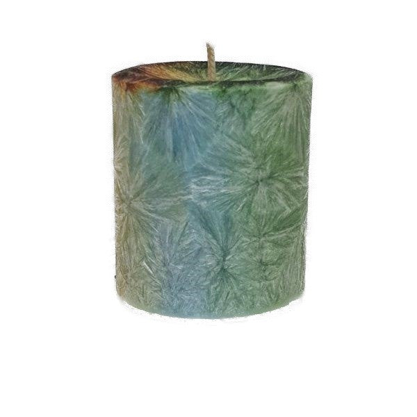Peaceful Shit - Small Pillar Candle