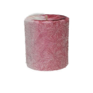 Victoria Rose - Small Pillar Candle