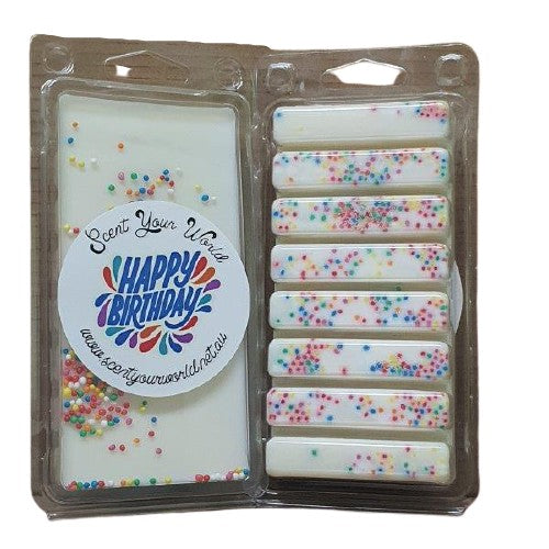 Birthday Cake - Soy Wax Melts 8 Pack