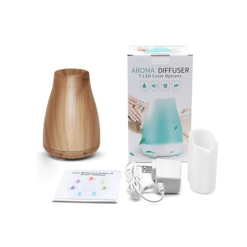 Aroma Diffuser - Pine 7 LED Colours