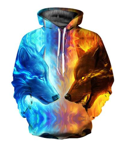 3D Printed Hoodie - Aesthetic Outfits