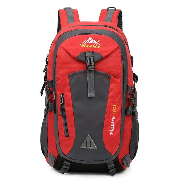 40L Unisex Waterproof Men Backpack Outdoor Mountaineering Hiking Climbing Camping - Aesthetic Outfits