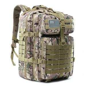 50L Large Capacity Man Army Tactical Backpacks - Military Assault Bags - Camping Hunting Bag - Aesthetic Outfits
