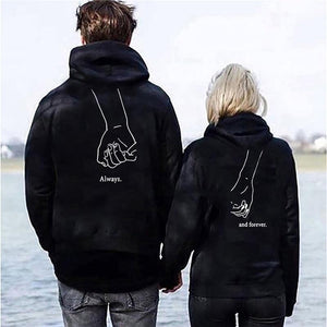 Matching Couple Hoodies Fashion - Aesthetic Outfits
