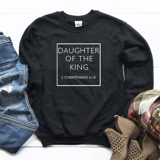 Daughter of The King Sweatshirt - Aesthetic Outfits