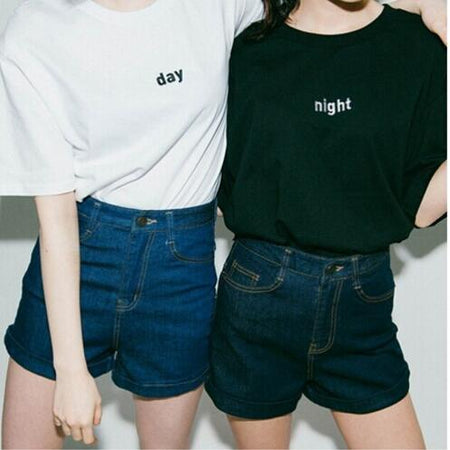 Day and Night T-Shirt - Aesthetic Outfits