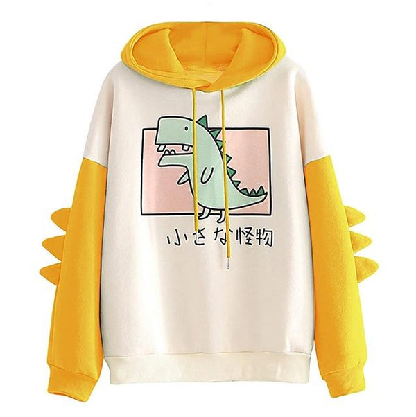 Dinosaur Hoodie - Aesthetic Outfits