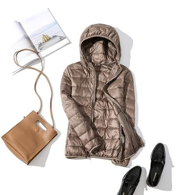 Ultra-light Thin Down Parka Jacket - Aesthetic Outfits