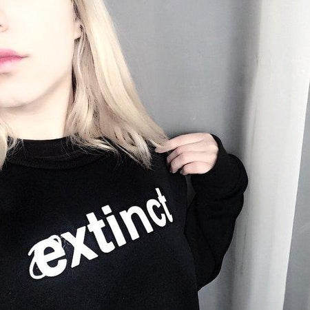 Extinct Sweatshirt - Aesthetic Outfits