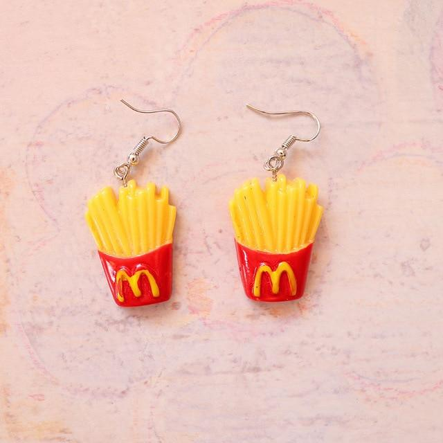 Funny Drop Earrings - Aesthetic Outfits