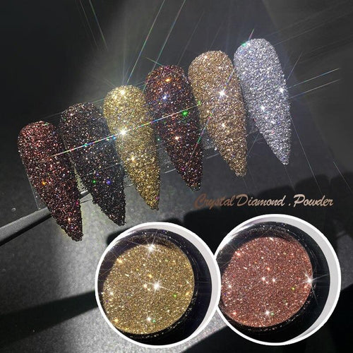 Glitter Nail Art - Aesthetic Outfits