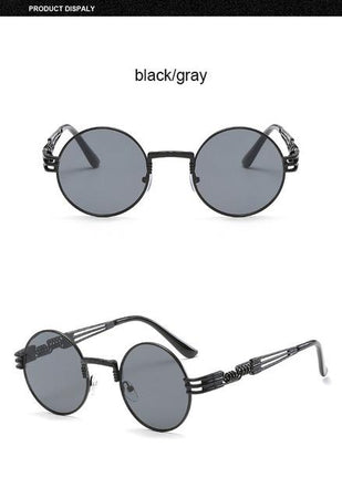 Gothic Steampunk Sunglasses - Aesthetic Outfits