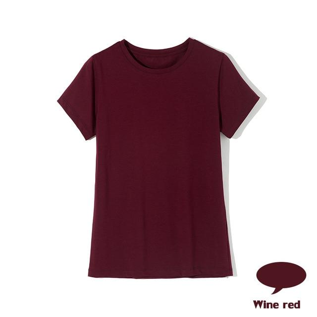 High Quality Cotton Female T-shirts - Aesthetic Outfits