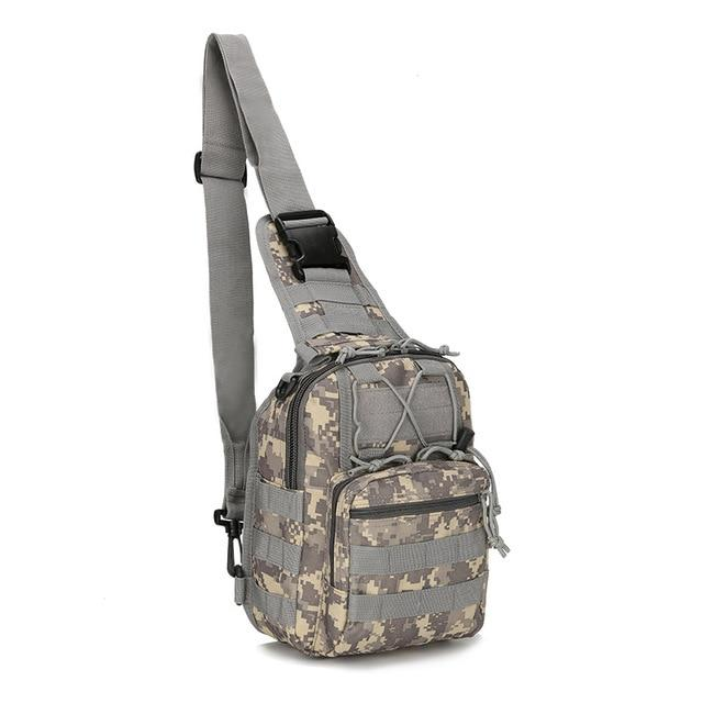 Hiking Military Shoulder Bag - Aesthetic Outfits