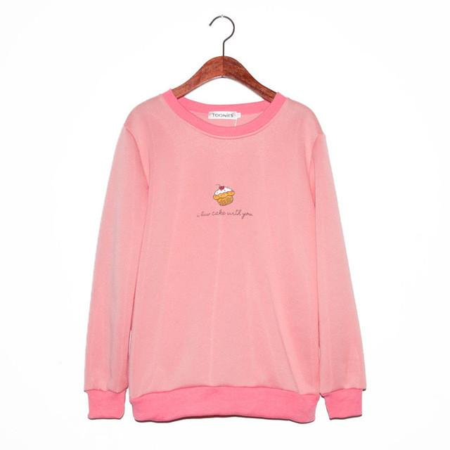 Ice Cream Sweatshirt - Aesthetic Outfits