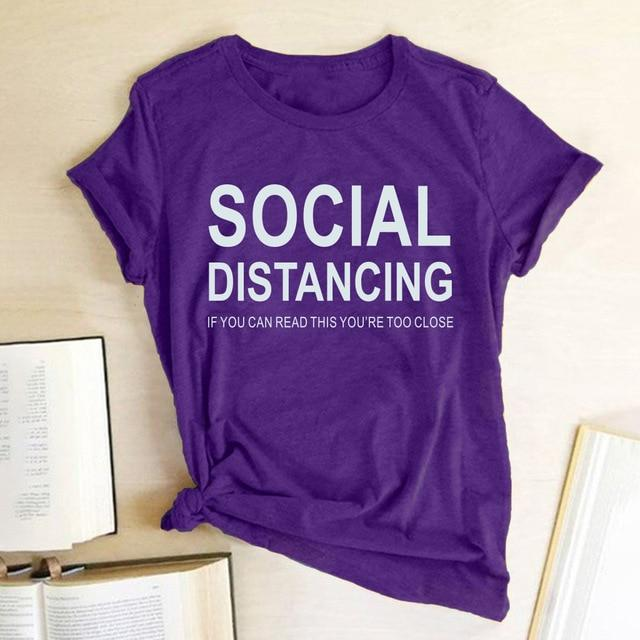 If You Can Read This You Are Too Close - Social Distancing T Shirt - Aesthetic Outfits