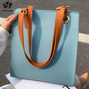 Ladies Handbags Women Fashion Bags Designer Tote Luxury Brand Leather Shoulder Bag - Aesthetic Outfits