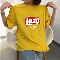 Lazy T-Shirt - Aesthetic Outfits