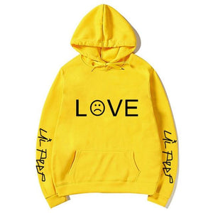 Love Sad Pullover Hoodies - Aesthetic Outfits