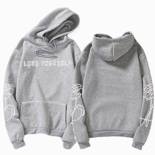 Love Yourself BTS Hoodie - Aesthetic Outfits