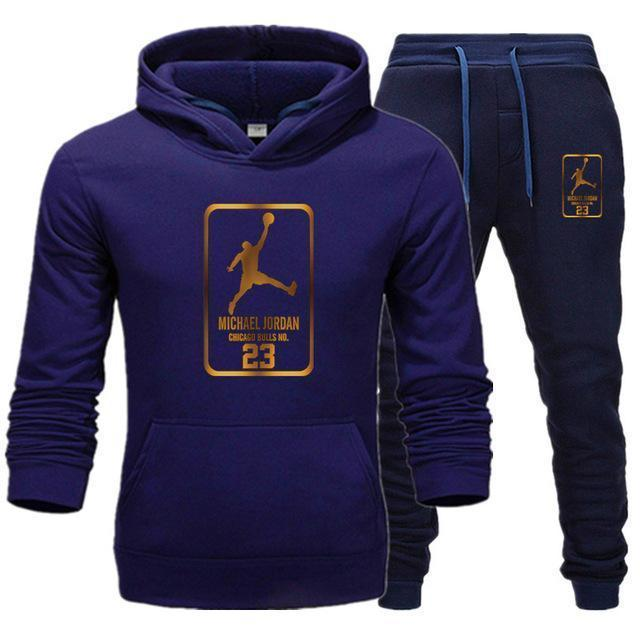 New Men Track Suit Printed Jordan 23 - Aesthetic Outfits