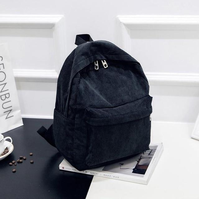 New Trend Female Backpack Fashion Women College School Backpack - Aesthetic Outfits