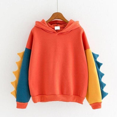 Dinosaur Hoodie in Variety of Colors - Aesthetic Outfits