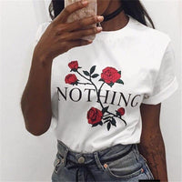 Nothing Rose T-Shirt - Aesthetic Outfits