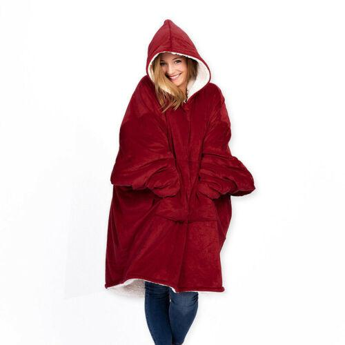 Ultra Plush Blanket Hoodie Soft and Warm - Aesthetic Outfits