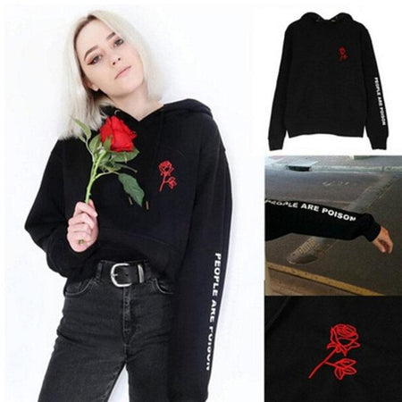 """People Are Poison"" Hoodie - Aesthetic Outfits"