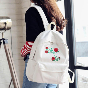 Rose Flower Backpacks - Aesthetic Outfits
