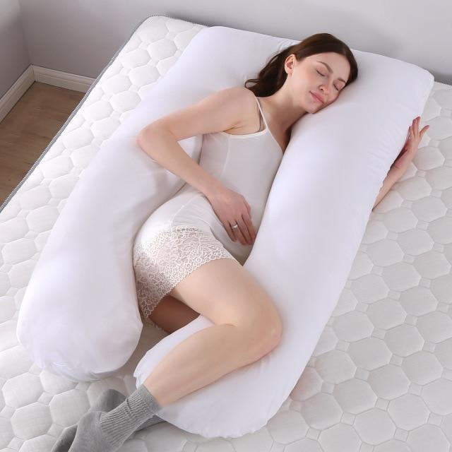 Pregnancy or Maternity Pillow - Full Body Multipurpose Pillow - Aesthetic Outfits